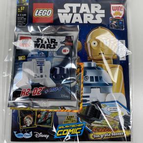 LEGO Star Wars Magazin Nr. 57: R2-D2 und MSE-6  Ausgabe - März 2020 im Review