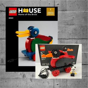 LEGO 40501 Duck Bauanleitung - LIMITED EDITION LEGO House Exclusiv vs. 2011 X-Mas Duck