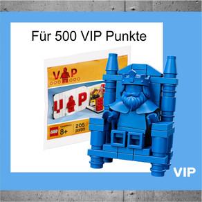 Jetzt für 500 VIP Punkte :-) das LEGO Iconic VIP-Set