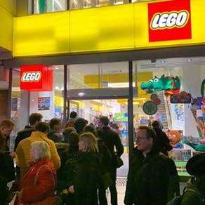 LEGO Zeitungskiosk! großer Ansturm in Hamburg, Köln, Berlin und München