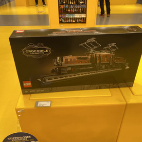 LEGO Store Köln 11:15 Uhr ging das letzte Krokodil 10277 über die Theke. Nachbestellung 15 September