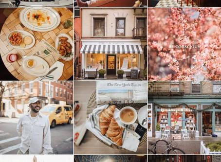 Como conseguir um feed organizado e harmonioso no Instagram.