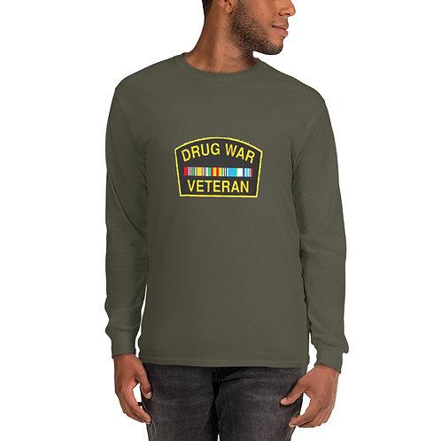 Drug War Veteran Men's Long Sleeve Shirt