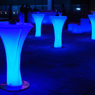 LED Thickpost Cocktail Table