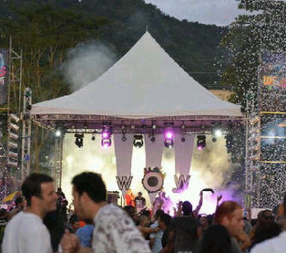 20 x 20 Marquee Tent for Stage