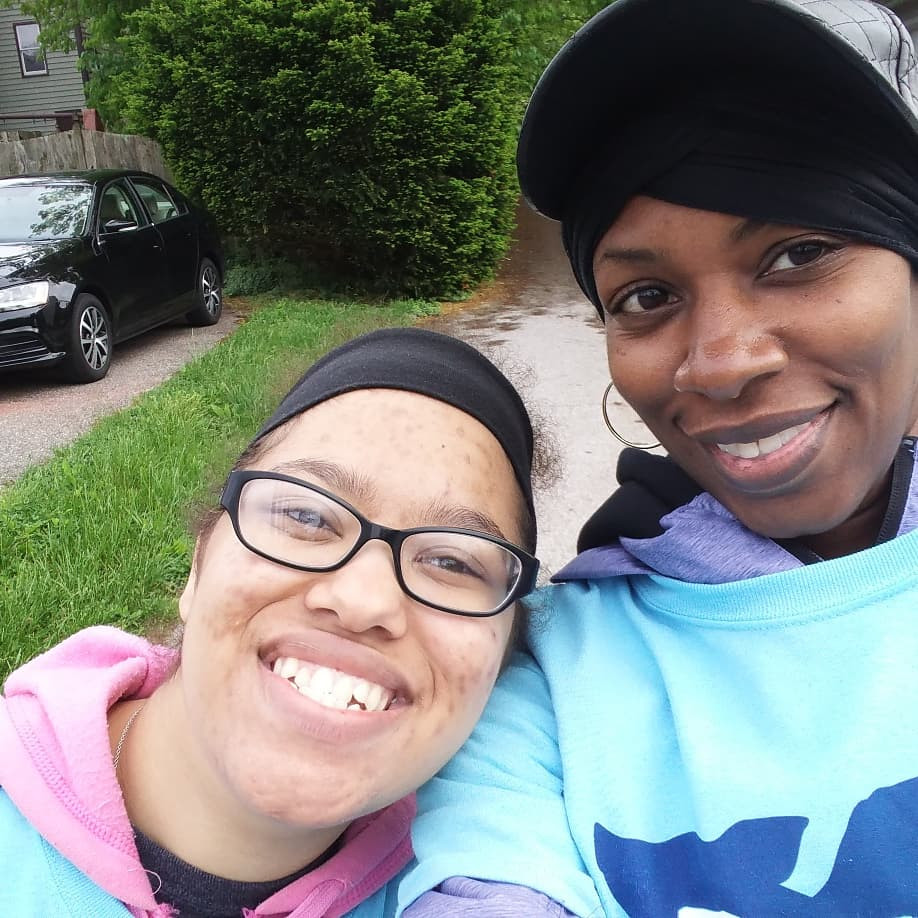 Volunteering at the Flying Pig Marathon