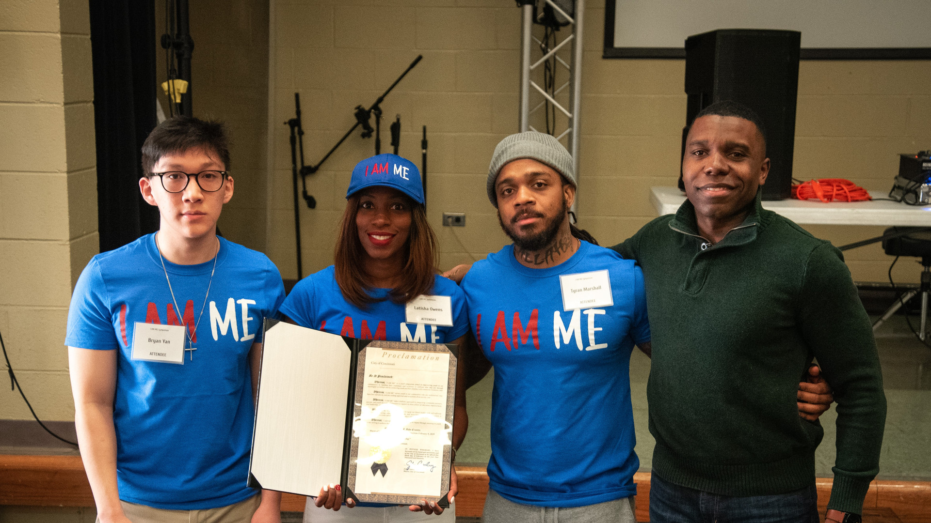 Guiding Light Mentoring receives Proclamation from the City of Cincinnati