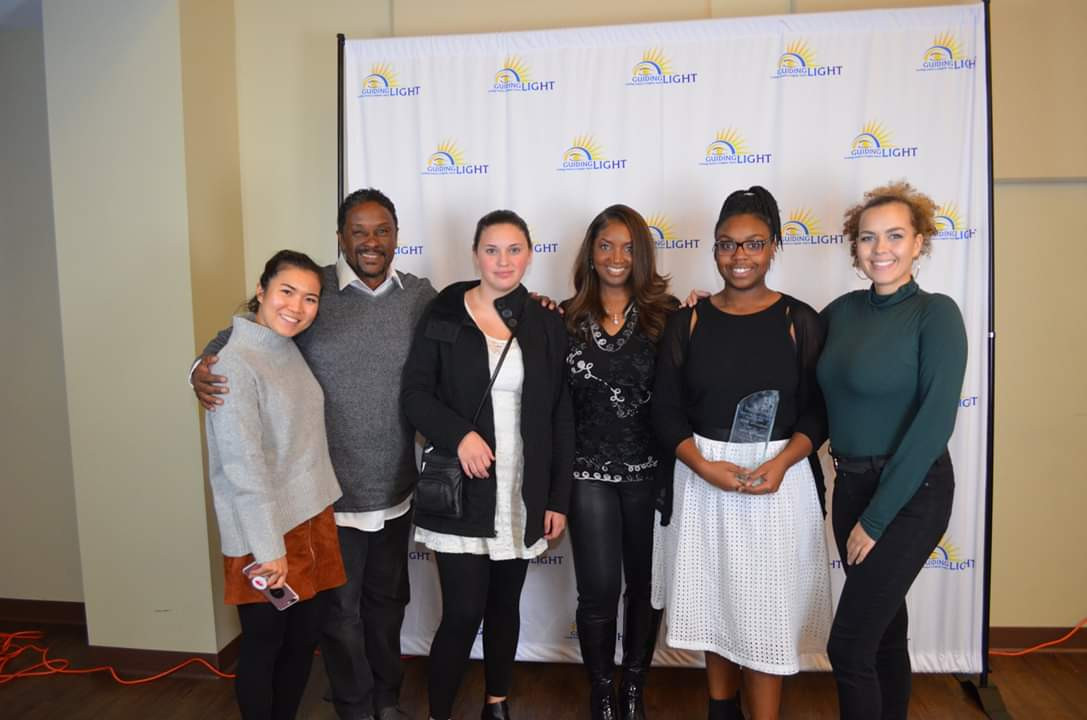 Mentees and Mentors of Guiding Light Mentoring