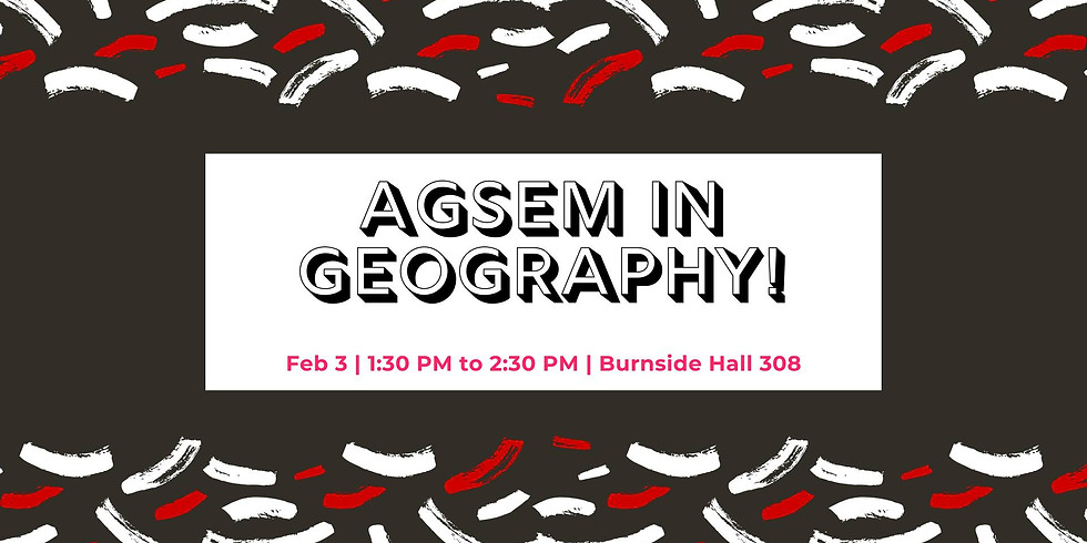 AGSEM in Geography!