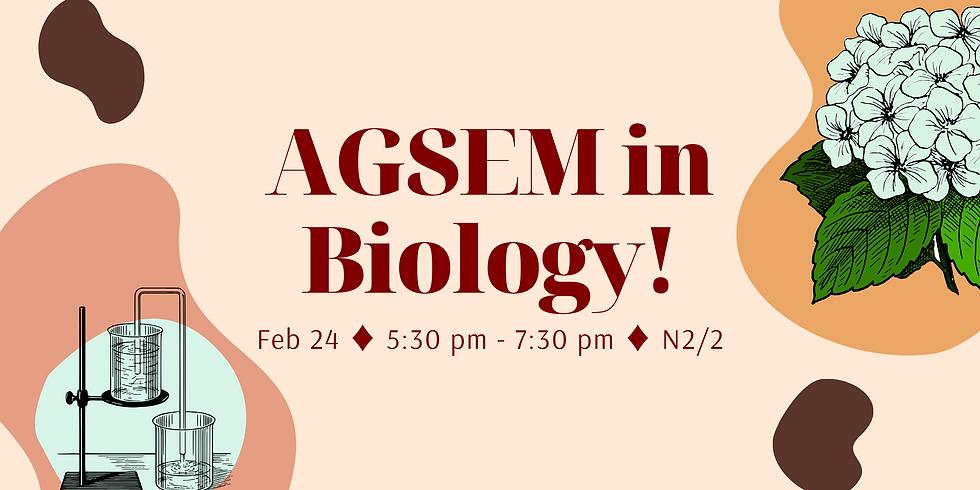 AGSEM in Bio!