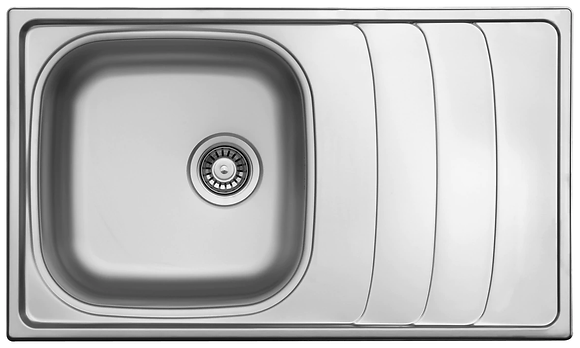 Sink 1 Bowl & Drain Board