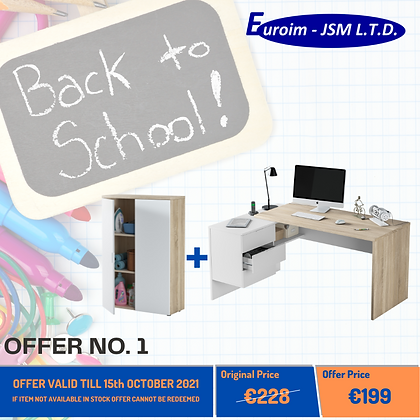 OFFER NO.1 - BACK TO SCHOOL