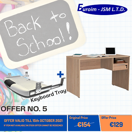 OFFER NO.5 - BACK TO SCHOOL