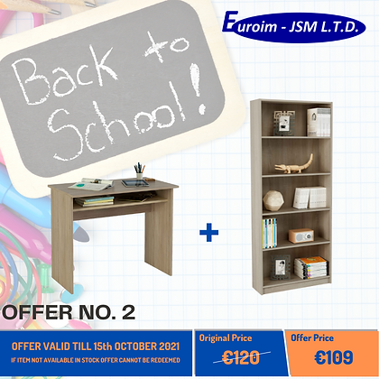 OFFER NO.2 - BACK TO SCHOOL