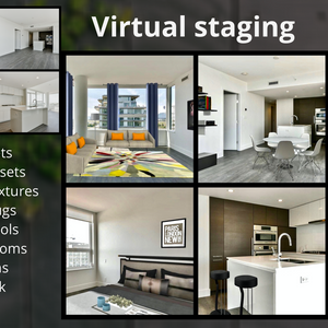 Optional Virtual Staging
