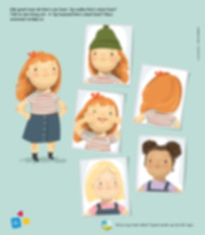 Mijke Coebergh, kids magazine girl illustration