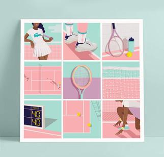 alphabet of tennis