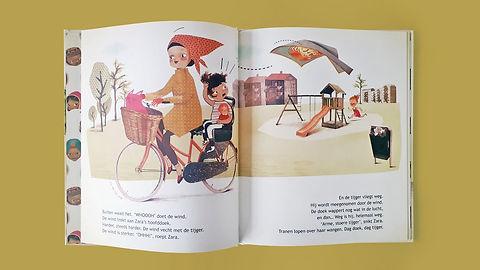 Mijke Coebergh, children's book illustration, kinderboek illustratie