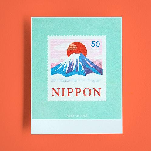 Risoprint Stamp of Japan