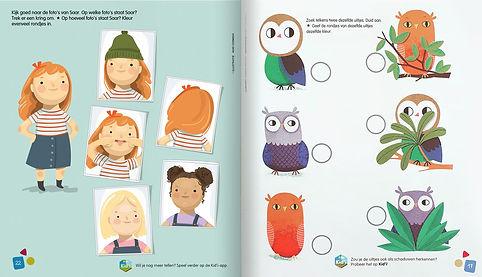 Mije Coebergh, kids magazine illustration, illustraties,