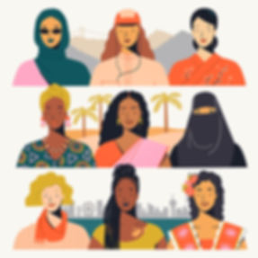 International Women's Day illustration Mijke Coebergh