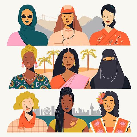 International Women's Day illustration Mijke Coebergh