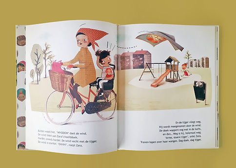 Mijke Coebergh, children's book illustration
