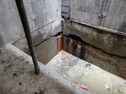 Surrey Elevator Pit Leak with Active Wat
