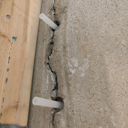 Interior Injection Repair in Basement