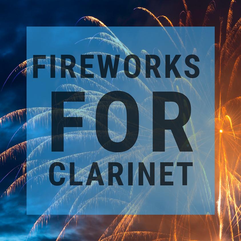 Fireworks for Clarinet / avant-première