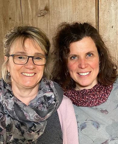 Susanne Hänni und Susan Rindisbacher