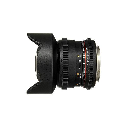 14mm T3.1 CIne Lens/14mm T3.1電影鏡