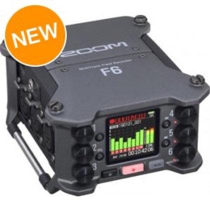 Zoom F6 6 track audio recorder / 6聲軌錄音器