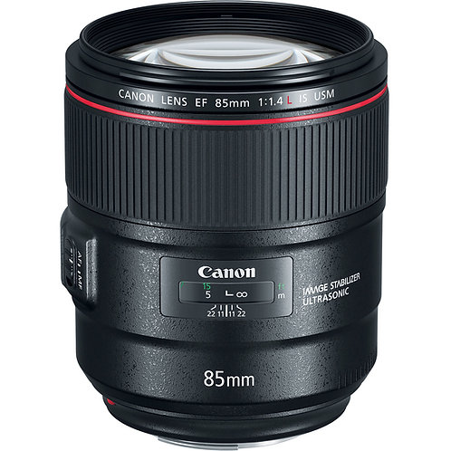 Canon 85mm f1.4 IS HSM