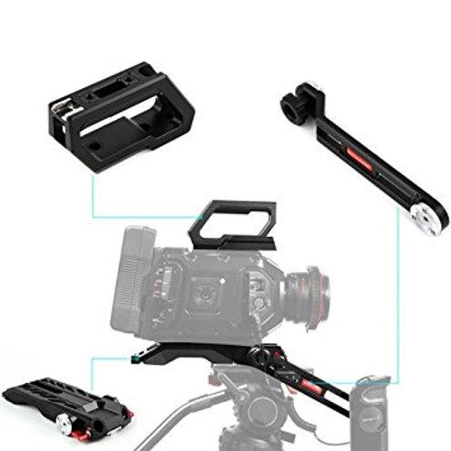 Shoulder rig for Blackmagic URSA mini pro
