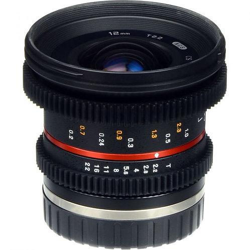 Samyang 12mm T2.2 for m43
