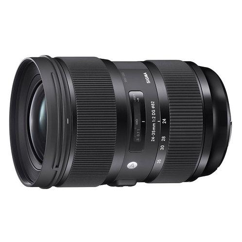 Sigma ART 24-35 f2/全片幅24-35mm f2 變焦定焦鏡頭
