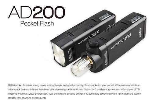 Godox AD200 flash light / 200w 閃光燈