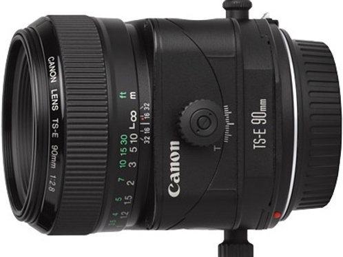 Canon 90mm f2.8 TS-E tilt shift lens