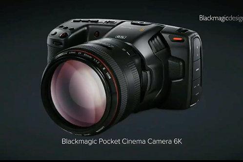 Blackmagic Pocket Cinema Camera 6K / BMPCC6K