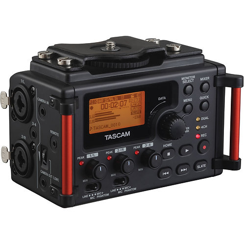 Tascam DR-60D MKII(4-channel)/XLR收音器