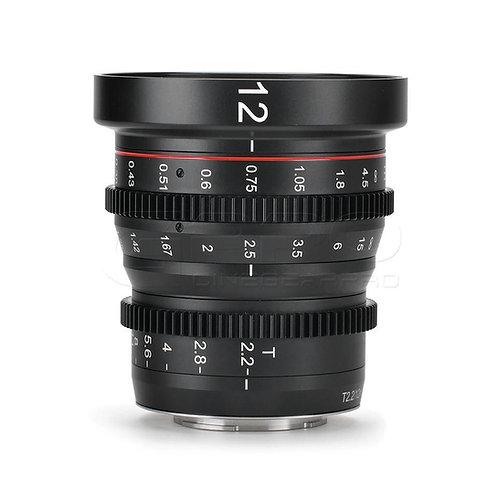 MEIKE 12mm T2.2 m43 Cine lens / 12mm m43 電影鏡