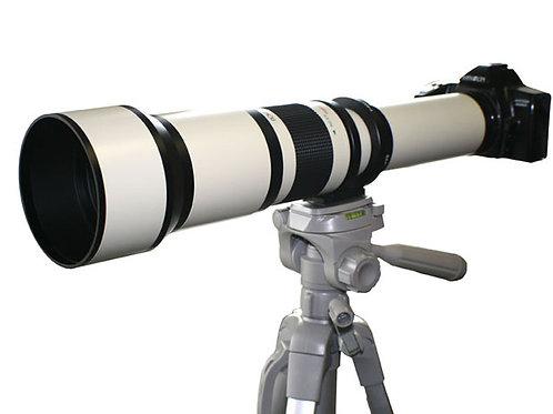 650-1300mm f8-f16 super tele lens