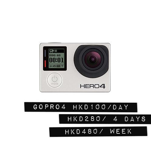 Gopro 4 black edition 4K / 小型4K潛水錄像機