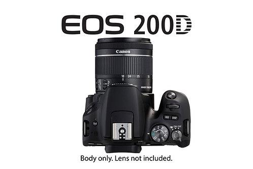Canon 200d dslr/ 旅行迷你相機