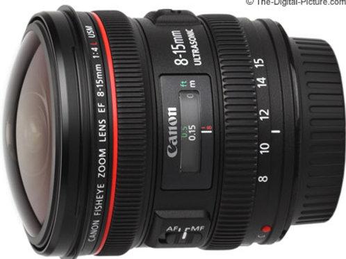 Canon 8-15mm f4 fisheye / 魚眼鏡