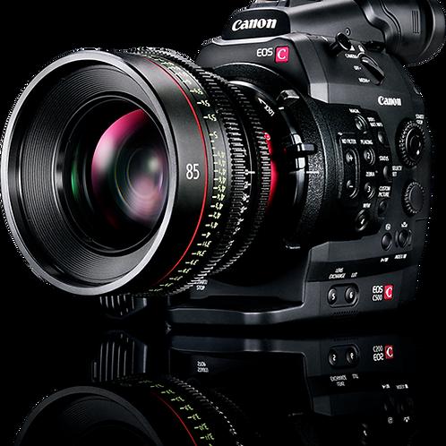 Canon C100 1080P DAF/廣播級全高清錄卡錄像機