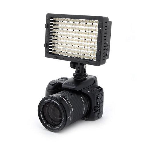 dimmable on camera LED light made in US/可調光暗,色溫機頂LED燈