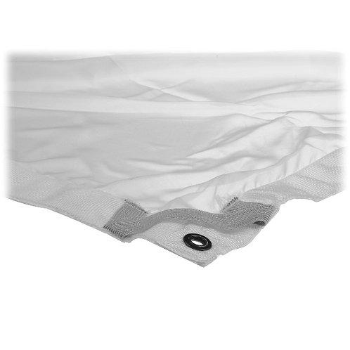 Matthews Butterfly/Overhead Fabric - 6x6' - White 1/4 Stop Silk