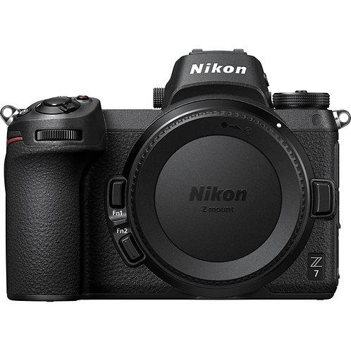 Nikon Z7 with 24-70mm f4 kit 46mp 4K